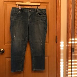 Simply Vera Wang Jeans, Size 16